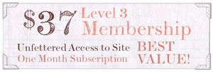 $37 Level 3 Membership, unfettered access to site, 1 month subscription, best value