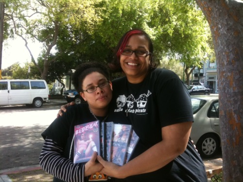 We just donated DVDs to 2012 International Ms Leather contestant Coco Monroe ...