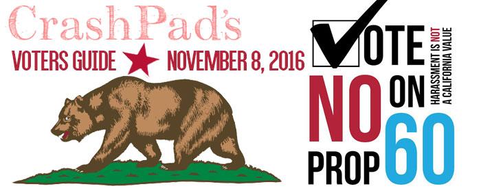 CrashPad Voter Guide 2016